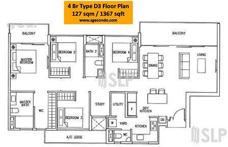 Singapore Executive Condominium Ec Floor Plan